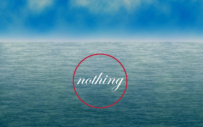 a red circle with nothing in it (nowhere) by allan revich