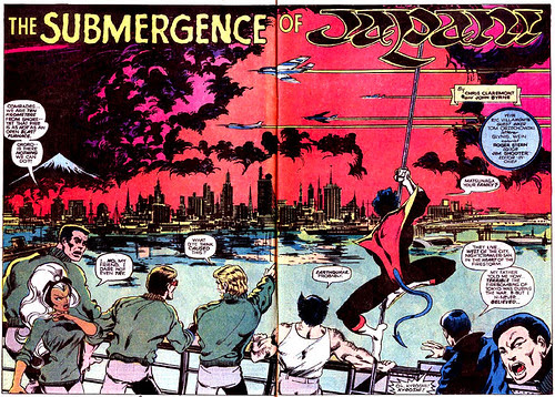 Double-page spread from Uncanny X-Men #118, by John Byrne