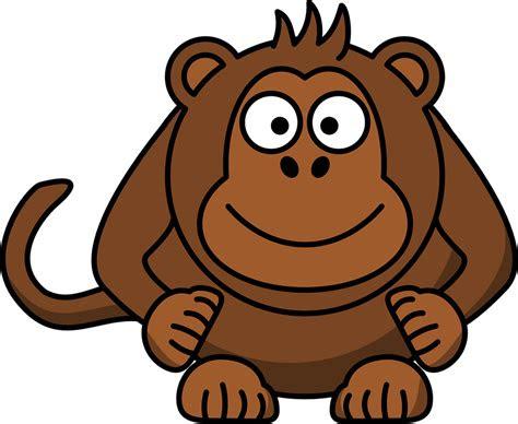 monyet kepala tertawa gambar vektor gratis  pixabay