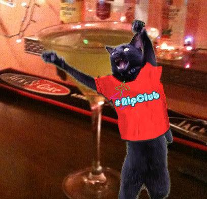 Thx to @Georgetheduck for the DYNAMITE #Nipclub Staff t-shirt.
