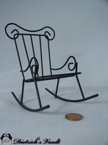 Dollhouse Rocking Chair For Sale Antiquescom Classifieds