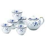 NARUMI(ナルミ) ペレーネブルー 茶器揃 陶磁器 40721-32714