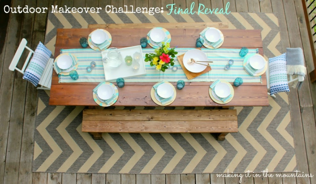 Outdoor Makeover Challenge