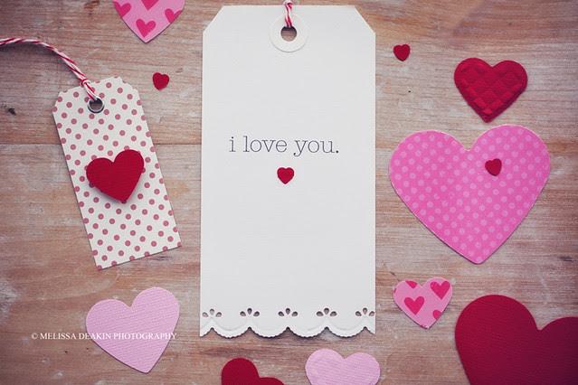 .valentine paper love.