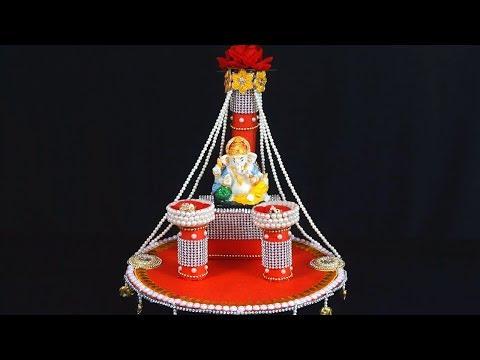 Ganpati Decoration Ideas For Home Ganesh Chaturthi Engagement