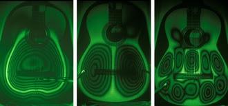 Los láseres hacen que las guitarras suenen mejor