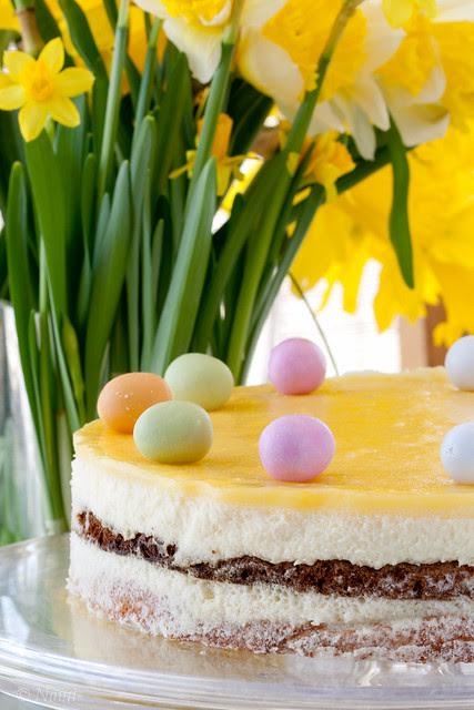 Birthday cake 2011 / Easter cake 2011 (Limoncello, white chocolate, coconut)
