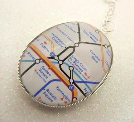 London Underground Necklace