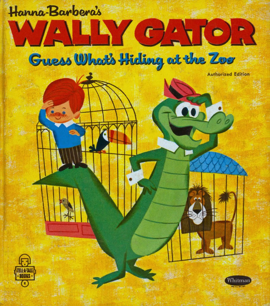 Wally Gator - Guess What's Hiding at the Zoo00001