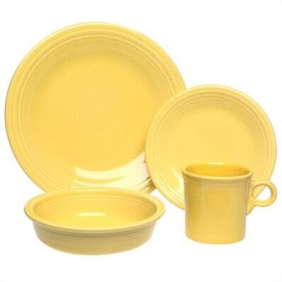 Fiesta® xxx-320 - Sunflower Dinnerware Collection