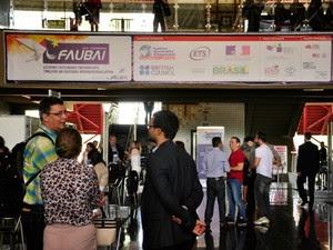 Faubai reúne gestores de relações internacionais em universidades em Cuiabá (MT) (Foto: Amanda Sampaio/G1 MT)