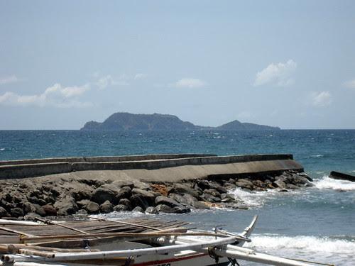 Apo island from Malatapay