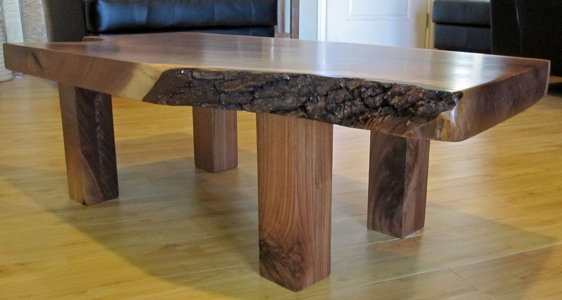 Wood Slab Coffee Table Design Images Photos Pictures