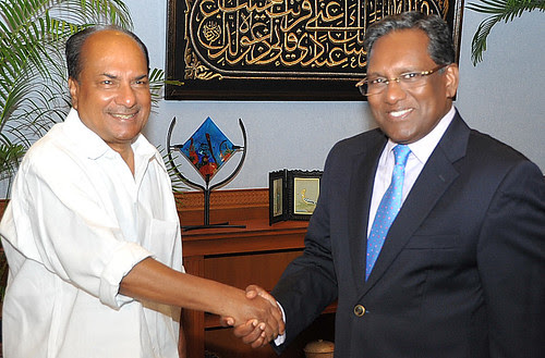 3-Antony calls on Maldives President(Photo-MNDF) by Chindits