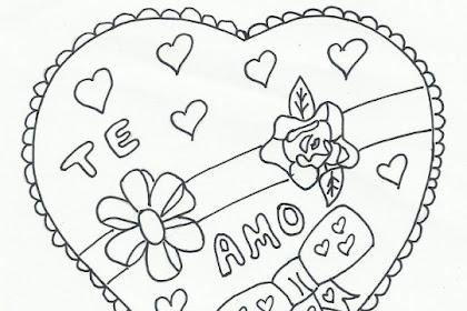 Imagenes De Amor Para Colorear Con Frases Para Mi Novio Para Colorear