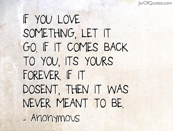 If You Love Something Let It Go Quotes Apiotravvyinfo