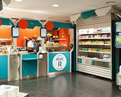 matali crasset + praline: mini M grocery shop, toulouse