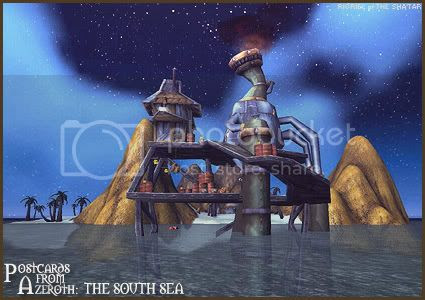 Postcards of Azeroth: The South Sea
