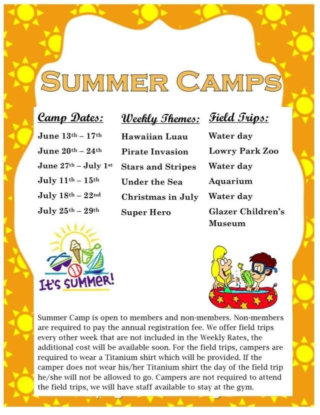 Summer Camp Weekly Theme Ideas Find Your Dream