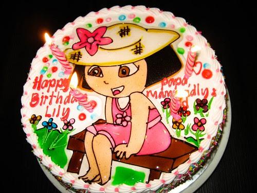 Lily's 4th Birthday