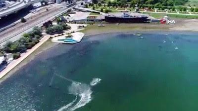 500 Bin Kişiyi Ağırlayan Bandırma Gemi Müzesi Havadan Görüntülendi