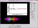 Screenshot of the simulation Atomic Interactions