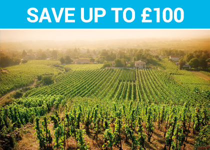 Save up to £100 - Colours of the Rhone