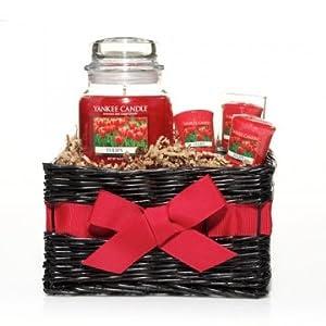 Yankee Candle TULIPS Gift Basket - 14.5 oz Jar Candle, 3 ...