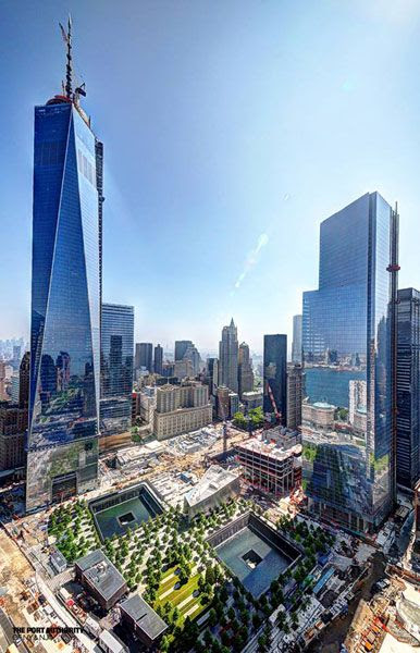 The World Trade Center plaza in New York City...as seen on May 30, 2013.