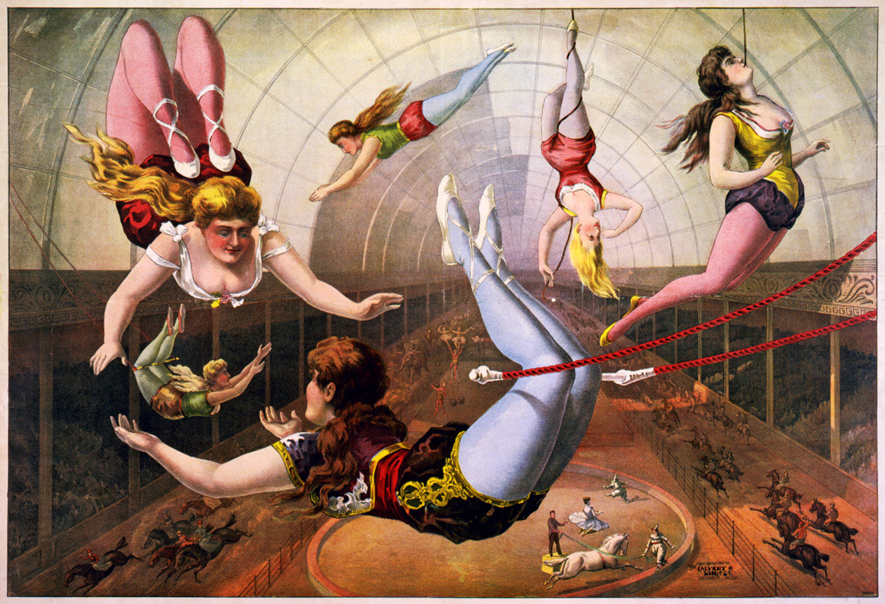 File:Trapeze Artists in Circus.jpg
