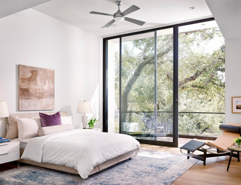 10 Glorious Bedroom Decors With Glass Sliding Doors Covet Edition