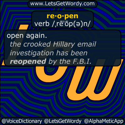 reopen 10/29/2016 GFX Definition