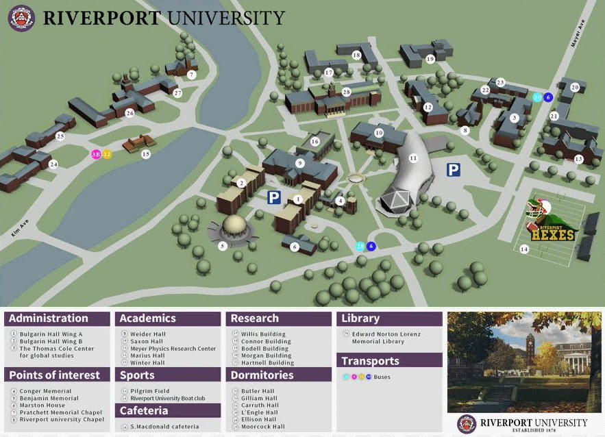 Riverport University Quantum Break Wiki Fandom Powered