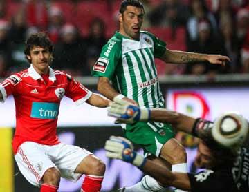 Aimar (SLB) marca golo ao Rio Ave: Lusa