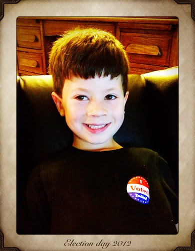 Our little voter by jessicafm