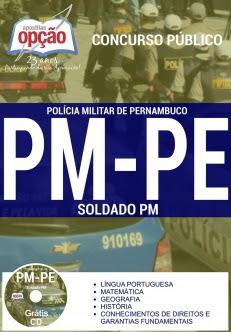 Polícia Militar / PE-SOLDADO DA PM