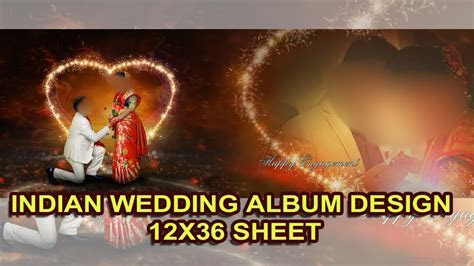 Adobe Photoshop Tutorial INDIAN WEDDING ALBUM DESIGN SHEET
