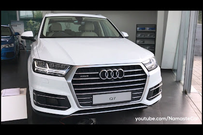 Audi Q7 White India