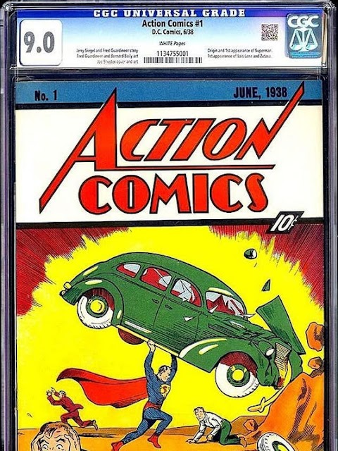 Action Comics 1 Value 2019