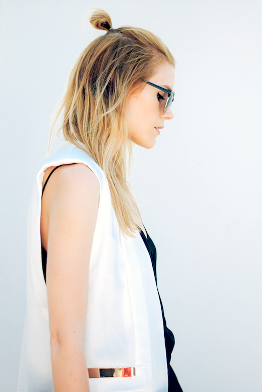 3 Le Fashion Blog 19 Ways To Wear A Half Up Top Knot Bun Long Blonde Hair Vest Via Love Blair photo 3-Le-Fashion-Blog-19-Ways-To-Wear-A-Half-Up-Top-Knot-Bun-Long-Blonde-Hair-Vest-Via-Love-Blair.png
