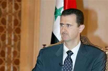 Άσαντ ` δεν μπορούν να κάνουν επέμβαση εδω όπως στητ Λιβύη`
