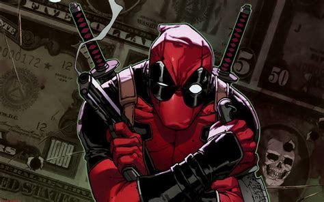 deadpool comic wallpaper