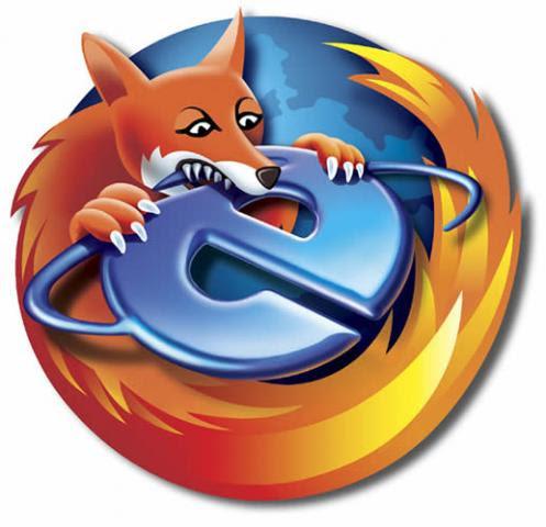 Firefox eats IE