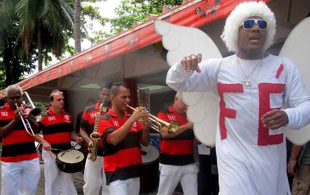 Charanga flamengo festa 117 anos (Foto: Janir Junior / Globoesporte.com)