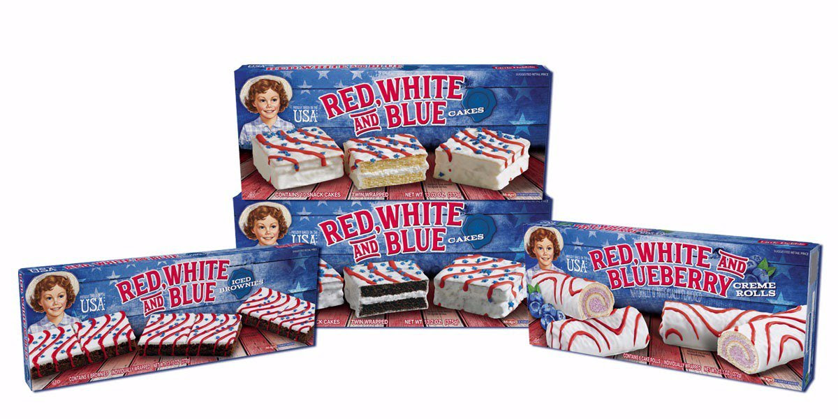 169 Little Debbie Red White Blue Snacks At Target Becs Bargains