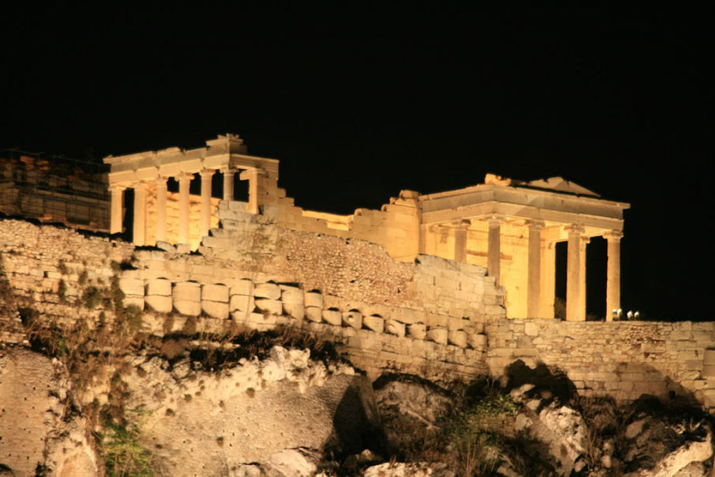 Lugares famosos sob o manto da noite 29