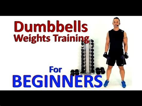 weights training  beginners dumbbell exercises