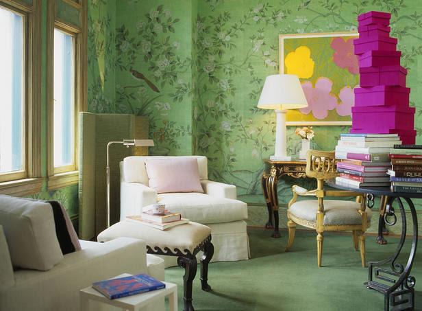 Martha Angus Green Room