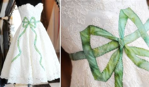 Wedding Dresses by Stephanie James Couture   Green Wedding