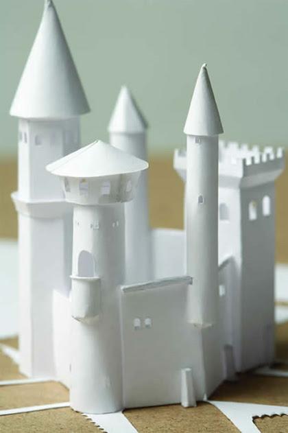 Peter Callesen - Impenetrable Castle (Detail)